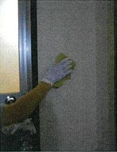 客室アルコール消毒